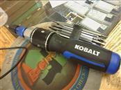 KOBALT TOOLS Screwdriver DOUBLE DRIVE